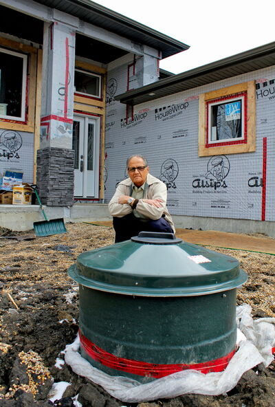 As a retired pensioner, Rossmore Avenue resident Harjit Holthi says he doesn't know how he'll be able to afford connecting to new sewer services coming to West St. Paul.