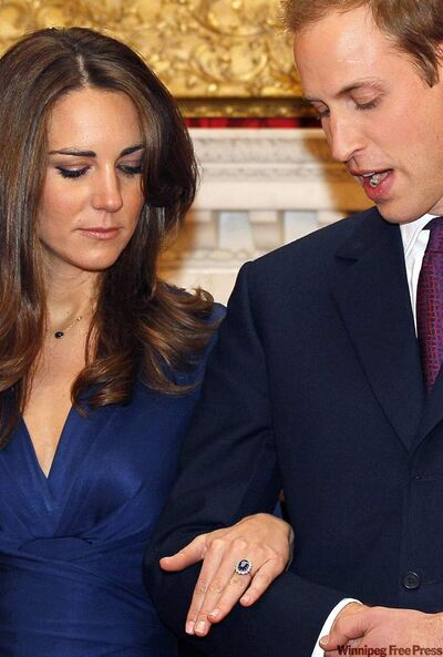 Prince William finally became engaged to longtime girlfriend Kate Middleton, giving her his late mother's engagement ring.