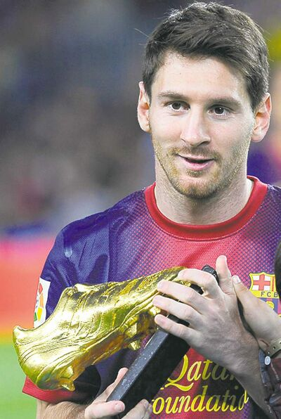 Manu Fernandez / the associated press archivesLionel Messi could add a Ballon d�Or to his Golden Boot.