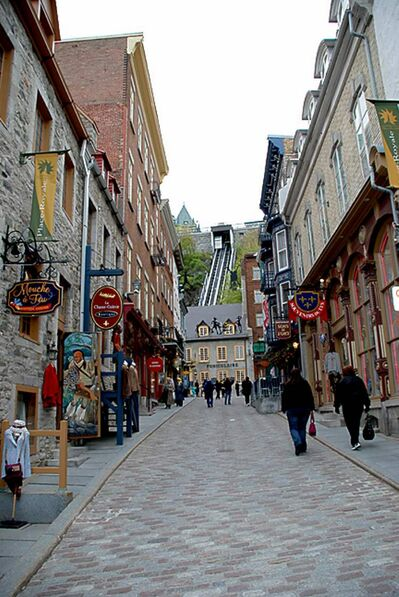Quebec City's historic buildings house some of the best shops and restaurants anywhere.