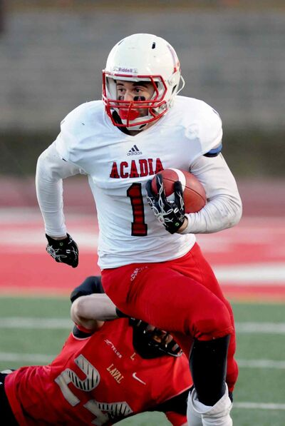 Taylor Renaud spent five seasons with the Acadia University Axemen.