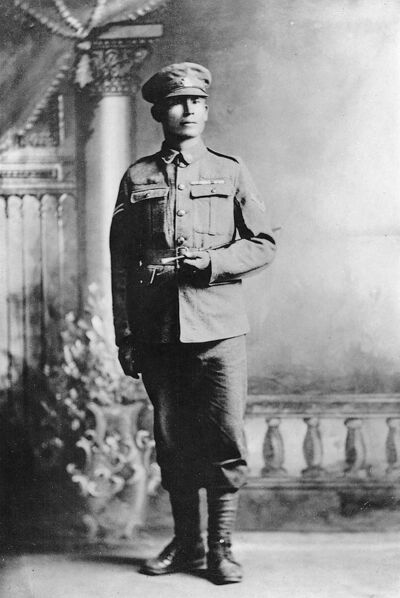 Cpl. Francis Pegahmagabow became supreme chief of the Native Independent Government, a precursor to today's Assembly of First Nations.