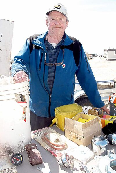 Brian Buchan, known to local auto buffs as Softy, has been in the auto parts business since 1960.