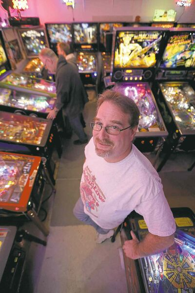 'It never fails; these things are always a conversation starter,' says pinball aficionado Rick Exner.