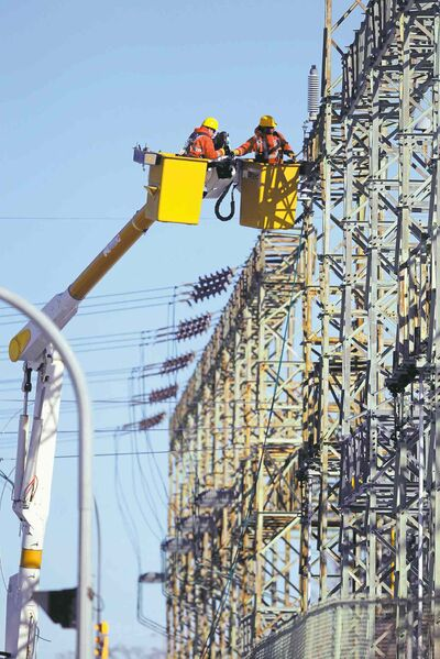 Manitoba Hydro says it needs more money to upgrade its transmission lines and substations, among other costs.