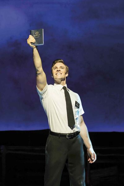 Billy Harrigan Tighe as Elder Price in The Book of Mormon