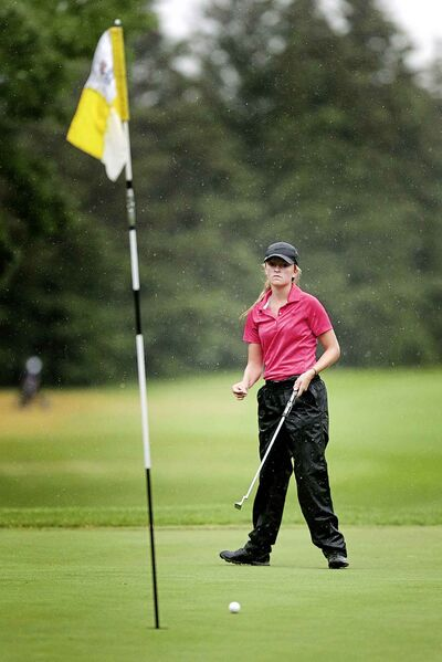 18-year-old Kate Gregoire from Quarry Oaks fired a 7-over par round of 80 to take the junior women's championship.