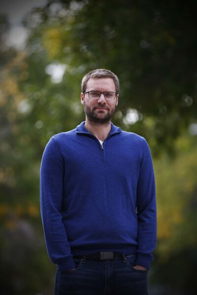 JOHN WOODS / WINNIPEG FREE PRESS</p><p>Ben Schellenberg, assistant professor in the Faculty of Kinesiology and Recreation Management at the University of Manitoba.</p>