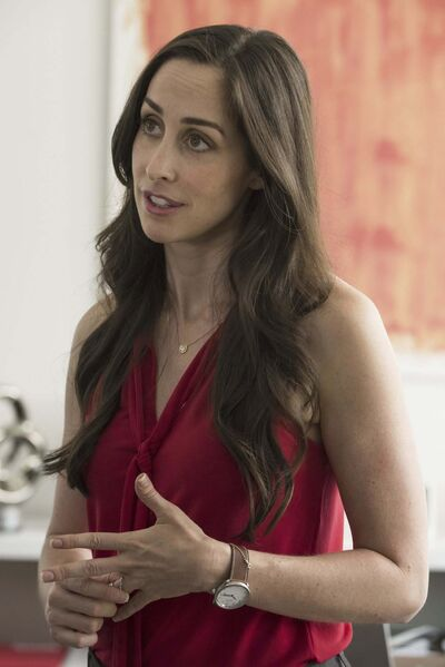 Catherine Reitman is creator and star of the new CBC comedy Workin' Moms</p>