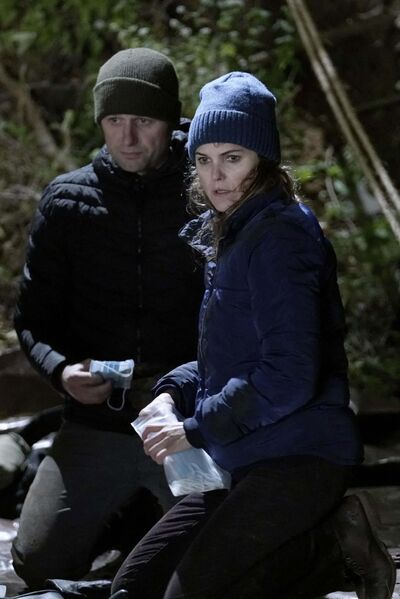 Patrick Harbron / FX</p><p>Matthew Rhys as Philip, left, and Keri Russell as Elizabeth in a scene from season 5 of The Americans.</p>