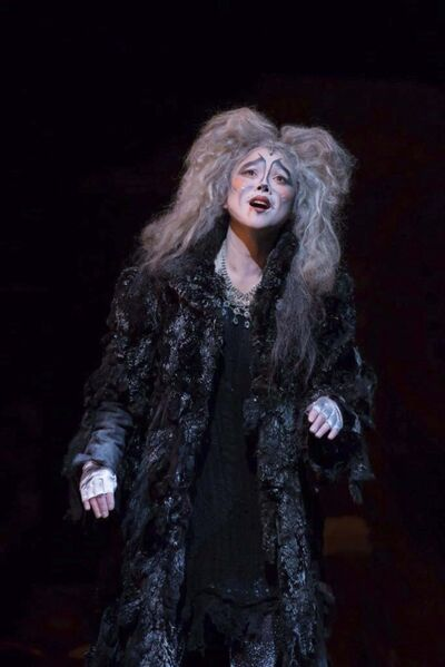 HANDOUT</p><p>Dionisio as Grizabella is shown in the theatre production of Cats.</p>