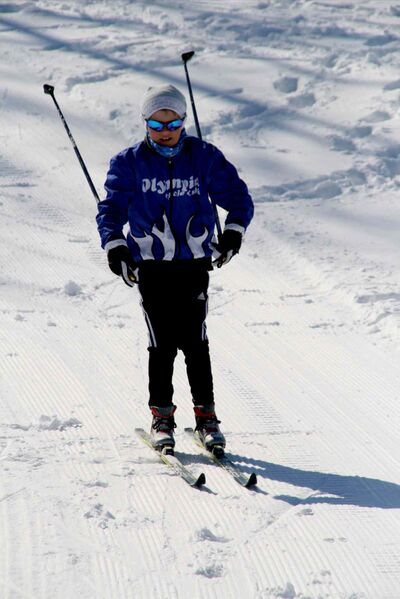 Aidan McMahon started skiing when he was two years old. Now, he'll be cross-country skiing competitively in the Manitoba Winter Games.