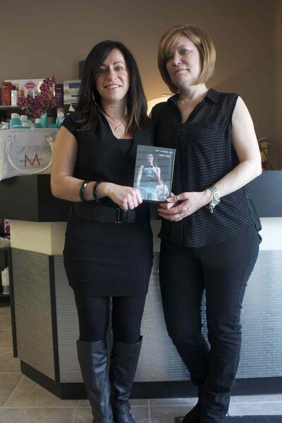 Marina Melo-Cabral and Ana Melo of Evoluir Hair Salon are holding a cut-a-thon in memory of their brother and son, John, on April 6.