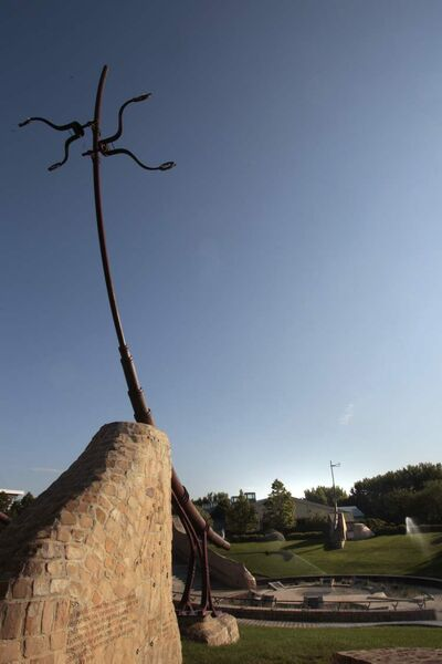 Cree for 'centre of the city,' Oodena the spiritual heart of The Forks.