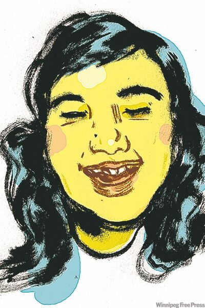 Self-portrait by Jillian Tamaki.