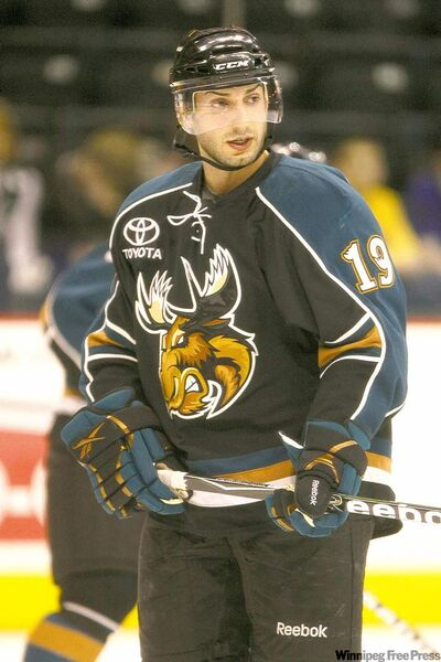 Marco Rosa during his days with the Manitoba Moose.