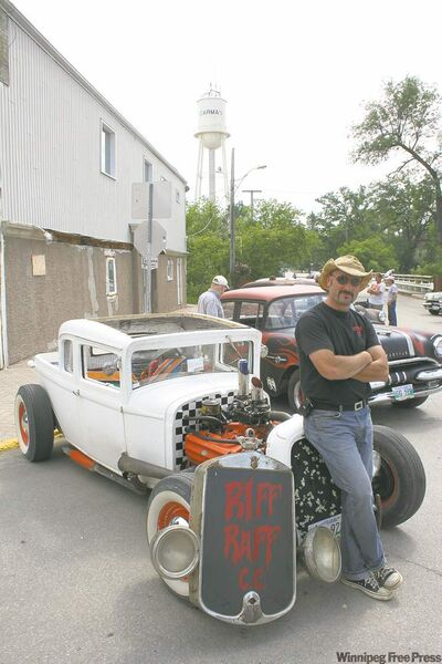 Brent Hoitink, president of the Riff Raff Car Club.