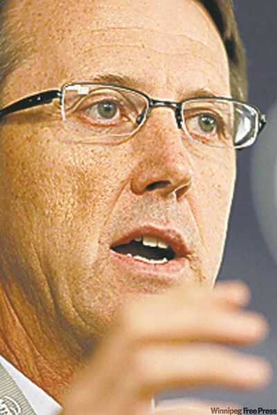 Winnipeg Jets Mark Chipman
