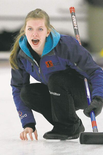 Christine MacKay's foursome won its second event in as many tries Saturday.