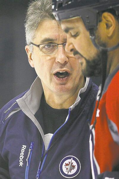 John Woods / THE CANADIAN PRESS archives Winnipeg head coach Claude Noel needs a rested, rejuvenated Dustin Byfuglien for the stretch run.