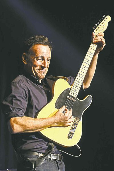 Springsteen: guitar lesson