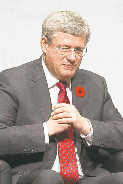 Chris Young / The Canadian PressPrime Minister Stephen Harper: Foolish to provide absolute clarity.
