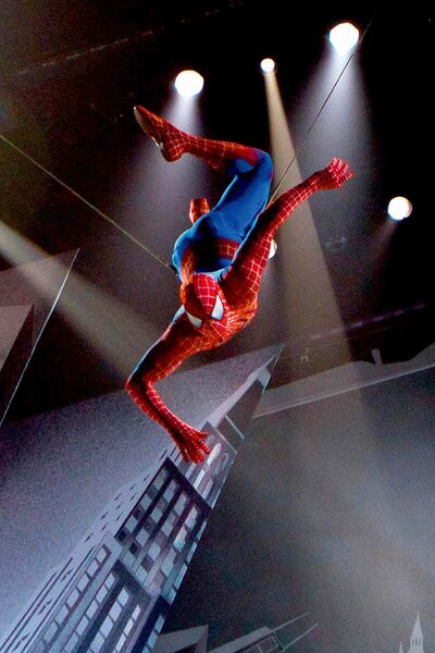 Spider-Man: Turn Off the Dark closes in January.