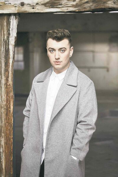 British singer Sam Smith's debut album is a hit.