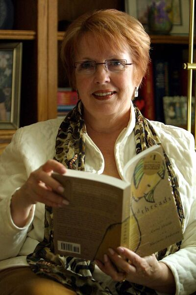 Marjorie Anderson is co-editor of  'At the Edge.'