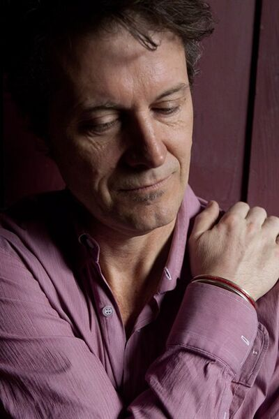 Blue Rodeo's Jim Cuddy is pictured in the band's recording studio called The Woodshed, in Toronto on Tuesday March 6, 2012. THE CANADIAN PRESS/Chris Young.