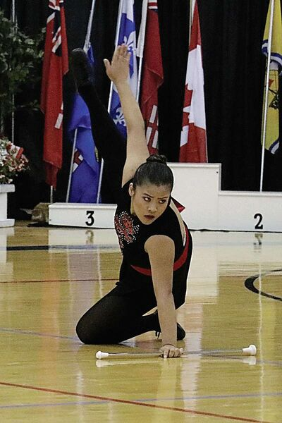 Tan won two gold medals, as well as a silver and a bronze, at the Canadian Baton Twirling Championships, which took place June 28 to July 2 in Oshawa, Ont.