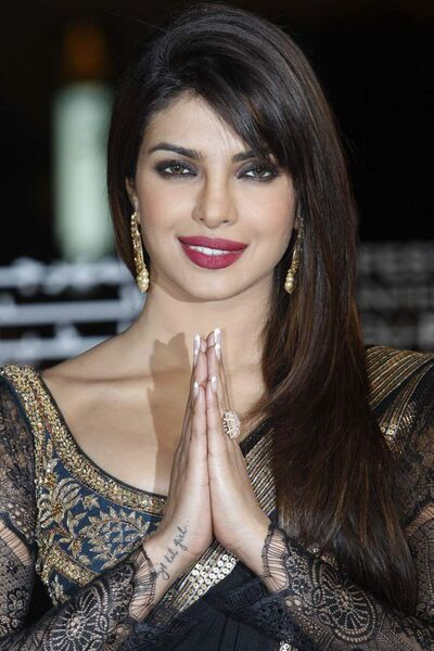 Bollywood actress Priyanka Chopra stars in Disney/Pixar's Planes.