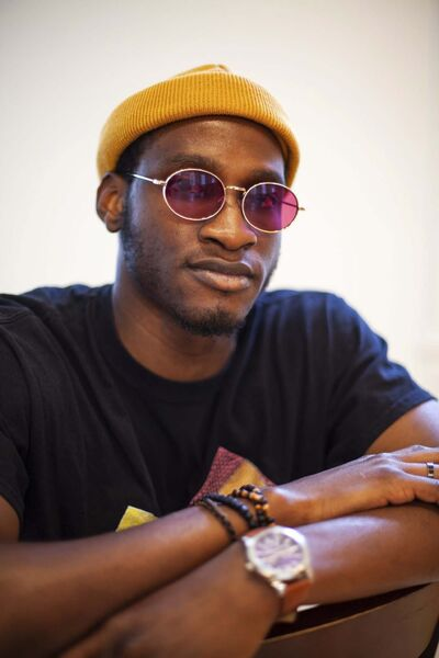 Daniel Crump / Winnipeg Free Press</p><p>Tommyphyll is a mentee in the Raising New Voices mentorship program, which aims to provide opportunities for emerging artists from communities typically underrepresented in the arts world. Nine artists worked together with mentors over the spring and summer to prepare and showcase pieces at Gerryfest 2021. September 2, 2021.</p>