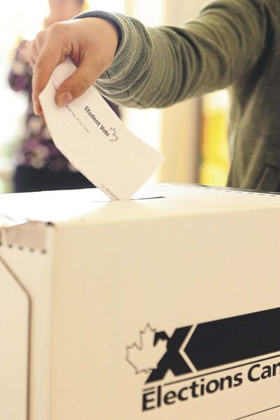 PAT McGRATH / THE OTTAWA CITIZEN FILE</p><p>Nearly three-quarters of a million Canadian youth took part in this year's Student Vote program.</p>