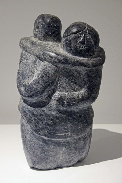 Oviloo Tunnillie&#39;s Mother and Child</p>