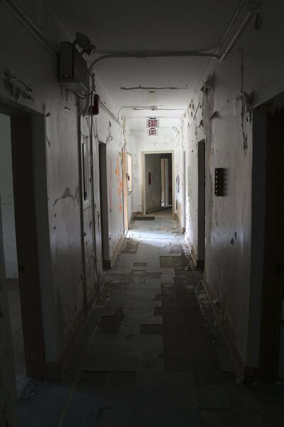 Christian Cassidy</p><p>Extensive renovations are necessary in many of the buildings that remain at the old Ninette Sanatorium.</p>