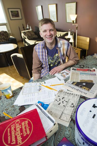 <p>Crossword puzzle designer Derek Bowman's puzzles have appeared in publications such as the New York Times and the Wall Street Journal.</p>
