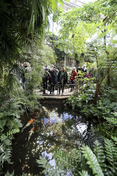 TREVOR HAGAN / WINNIPEG FREE PRESS FILES</p><p>The Assiniboine Park Conservatory is an indoor tropical paradise that, for more than a century, has been free for visitors.</p>