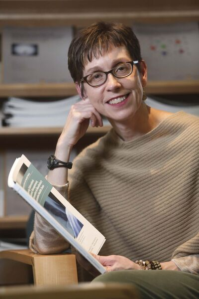 RUTH BONNEVILLE / WINNIPEG FREE PRESS</p><p>Dr. Lisa Lix, lead study author linking data findings of TB in Manitoba.</p>