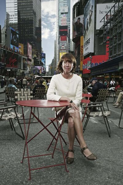 In Streetfight, New York City's former transportation commissioner, Janette Sadik-Khan, writes about car-clogged streets and how they can be transformed without heavy machinery, construction or funding. (Olugbenro Photography)