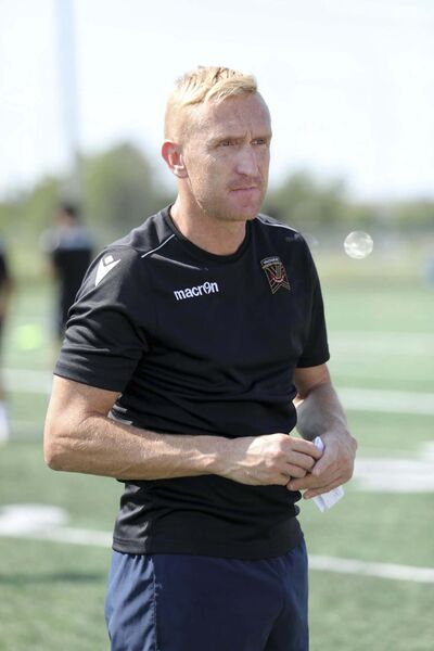 RUTH BONNEVILLE / WINNIPEG FREE PRESS FILES</p><p>Valour FC coach Rob Gale admits the team has had horrendous luck with weather.</p></p>