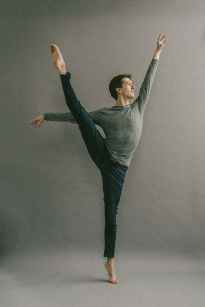 Winnipeg-born dancer Connor Coughlin is leading a trio of public dance classes this weekend inspired by his work in New York. (Supplied photo by James Jin)</p>