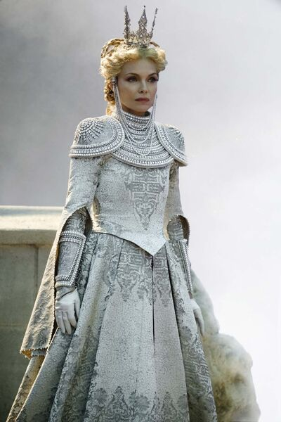 Michelle Pfeiffer is up for a little treachery as vindictive mother Queen Ingrith. (Disney)