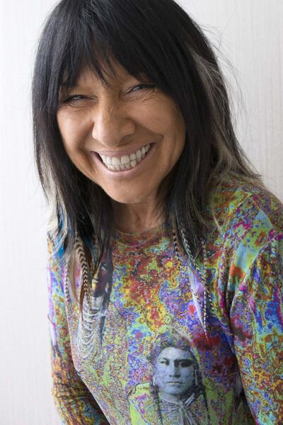 Chris Young / The Canadian Press</p><p>Canadian singer Buffy Saint-Marie</p>