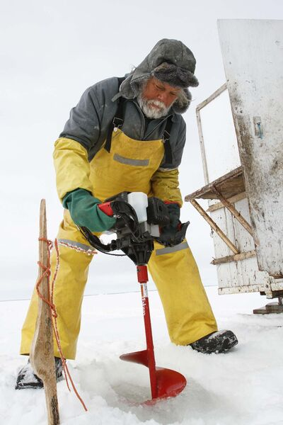 In a normal year, ice fishers would already be drilling holes on Lake Winnipeg.