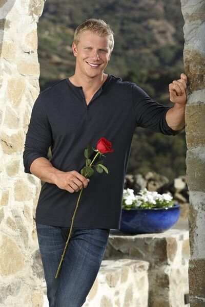 "FILE - This undated publicity image provided by ABC shows Sean Lowe, the 28-year-old star of the next edition of ABC's popular romance reality series, ""The Bachelor."" ABC says Lowe is headed to ""Dancing with the Stars."" He steps up fresh from his engagement to Catherine Giudici at the conclusion of the recent season of ""The Bachelor."" A Dallas businessman, Lowe will be competing for the disco-ball trophy when ""Dancing with the Stars"" returns for its 16th season Monday, March 18, 2013, at 8 p.m. Eastern time on ABC. He will partner with Peta Murgatroyd. The season premiere of the results show is set for March 26.(AP Photo, ABC, Kevin Foley)"