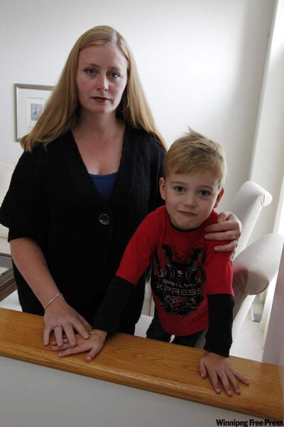 Ashley Simpson with her son Hartley. Simpson plans to be more careful on future shopping trips.