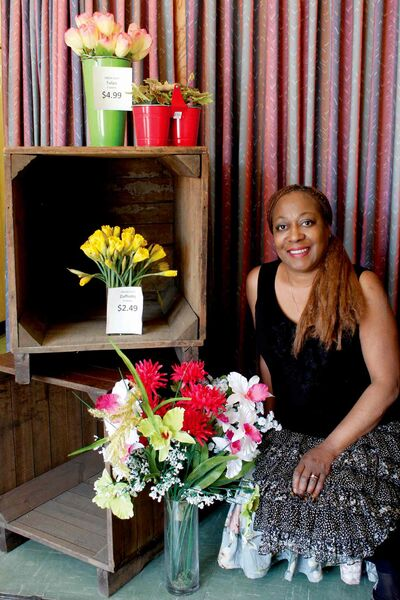 Angela Hyland has opened up a new floral shop, called Flowers in Bloom, at 611 Ellice Ave.