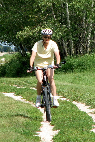 The Grand Trunk Trail has great potential, but for now you have to ride it like you find it.