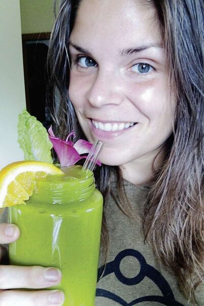 Carly Fraser, founder of Live Love Fruit, has a built a huge online following through her promotion of healthy lifestyles choices.